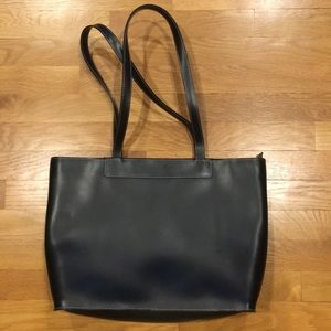 Handbags - LAMARTHE Black Leather Tote